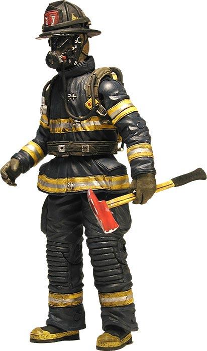 """Billy """"Axe"""" Graves Firefighter"""